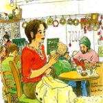 池袋の小さな公園に面した小さなカフェ、Zoozoi。クリスマスイブの夕方。