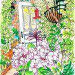 南青山の小さな花屋さん。田舎で収穫した花たちがコンセプトのこだわりのお店。花の表情に気取りが無くて、近くに行くと必ず立ち寄りたくなる。今日は薄いピンクの紫陽花が咲いていた。COUNTRY HARVEST