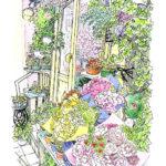 くらくらするほど暑い夏の日。表参道からほんの少し入ったところに小さな花屋さんを見つけた。優しい色使いのブーケに、一瞬アスファルトの熱気を忘れる。
